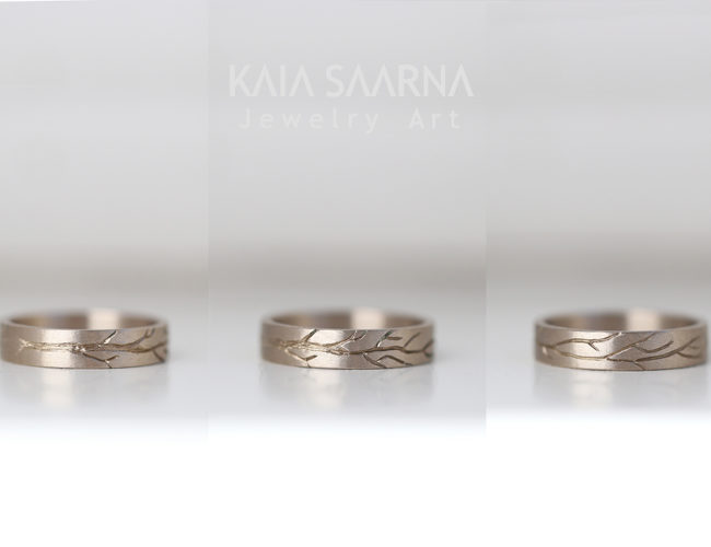 white gold 585 / valge kuld 585