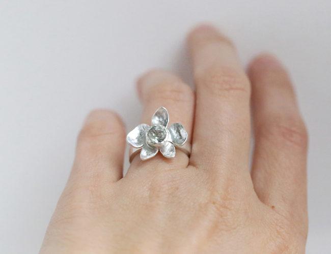 silver 925, tourmaline / hõbe 925, turmaliin